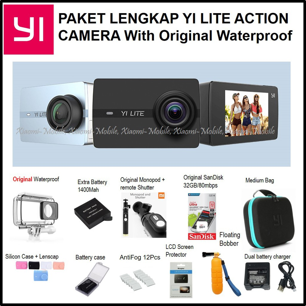 Promo Kogan 20 Mp Wifi Kamera Action Cam Cmos Layar 2 In Shopee Camera Gopro Sportcam Non 4k Indonesia