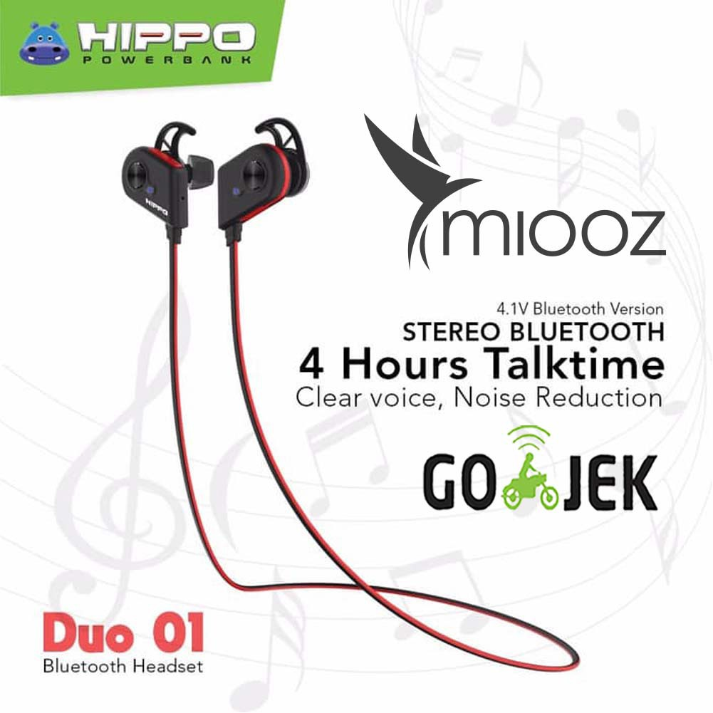 Headset Hippo Hop Original Handsfree Hip Bass Shopee Indonesia