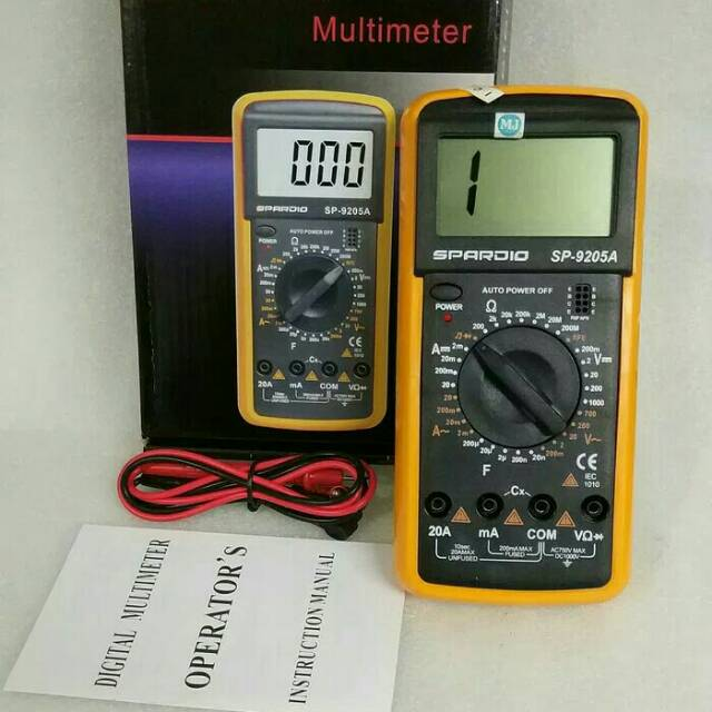 Multitester Digital