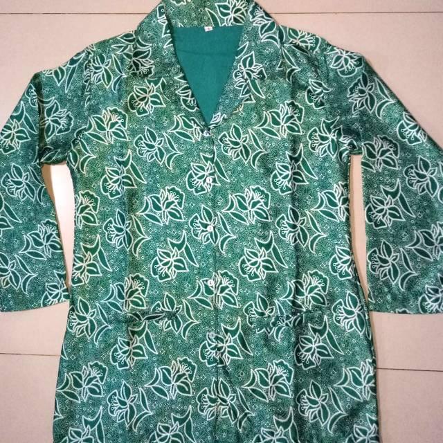 Baju Seragam Kemeja Batik Pkk Sutra Semi Sutera