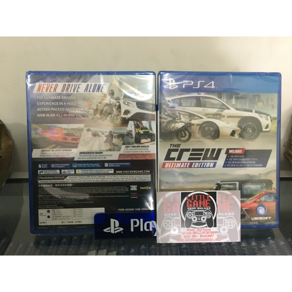 Ps4 The Crew 2 Shopee Indonesia Kaset Bd Game Need For Speed  Only Reg 3