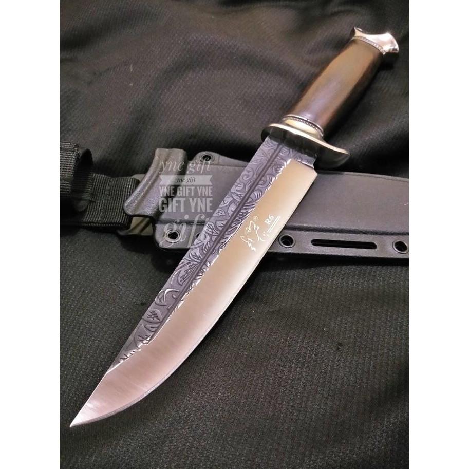 Pisau Rambo Vi 6 Sangkur Belati Berburu Lihat Bayonet 50 Cm Pedang Ak47 Shopee Indonesia