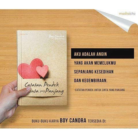 Catatan Pendek Untuk Cinta Yang Panjang By Mediakita Shopee Indonesia