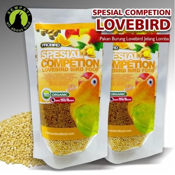 PAKAN BURUNG LOVEBIRD SPESIAL COMPETITION (LOMBA) PROBIRD 4 | Shopee Indonesia