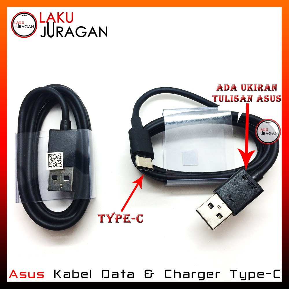 Kabel Data Charger Asus Type C Zenfone 3 Ze552k Tipec Original Casan Usb For Micro 2 4 4s 5 6 Oem Support Fast Charging Shopee Indonesia