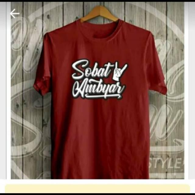 Tshirt Kaos Sobat Ambyar Didi Kempot S Xxxl Shopee Indonesia