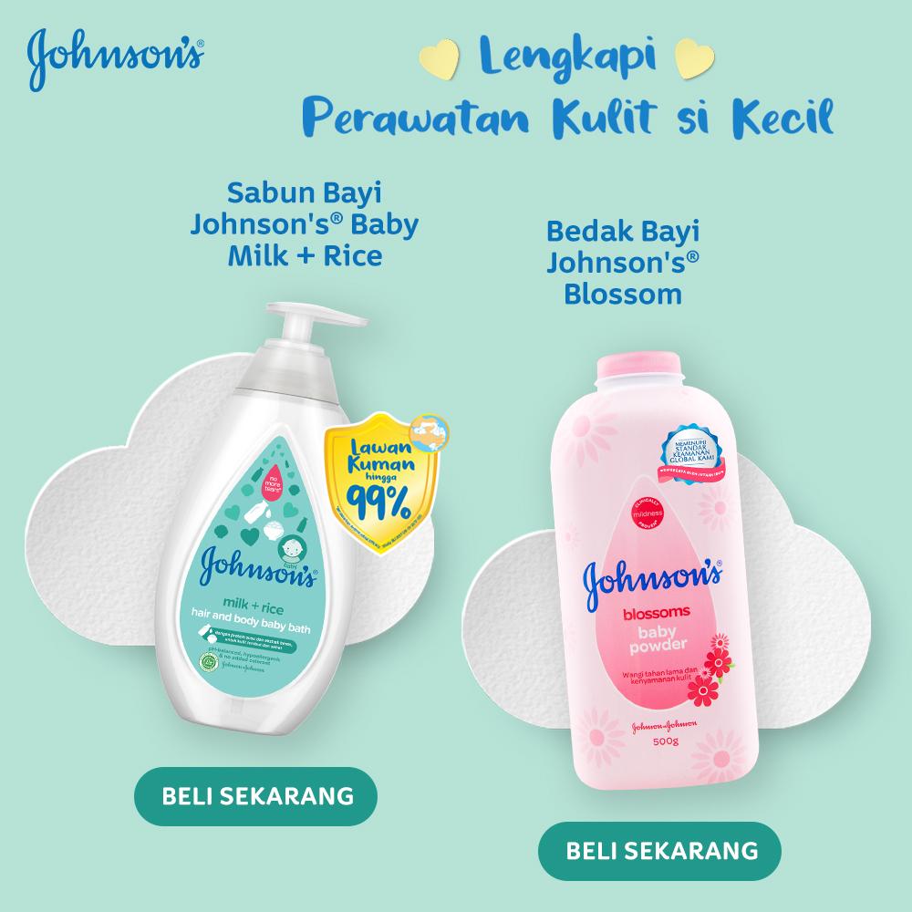 JOHNSON'S Gold Baby Shampoo - Shampo Bayi Refill 500ml-2