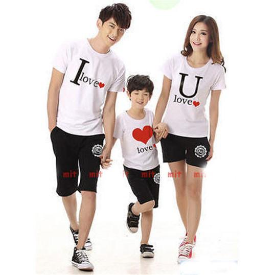 COUPLE FAMILY SUPERMAN SILVER FOIL (MERAH) 1 ANAK BAJU KELUARGA   Shopee Indonesia