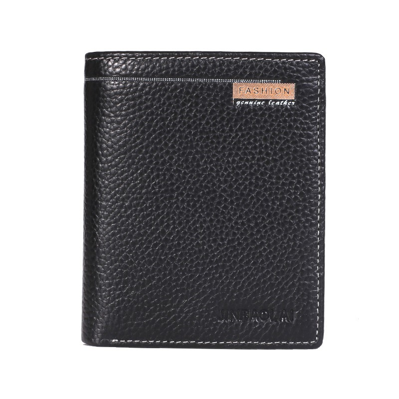 Wallet Money Clip Short Style Wallet ID Credit Card Holder PU Leather Handbag