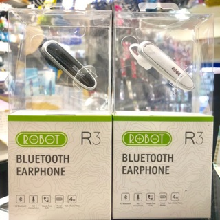 Headset Bluetooth V4 2 Robot R3 Original Earphone Support All Type Handphone Ios And Android Shopee Indonesia