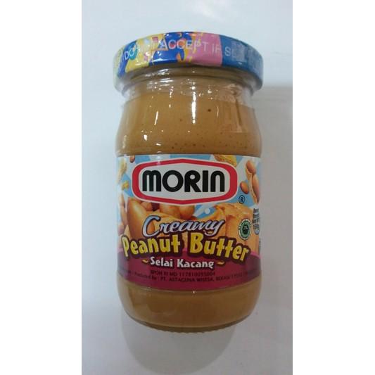 Morin Creamy Peanut Butter Selai Kacang 150 G Shopee Indonesia