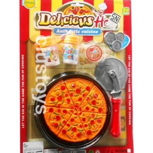Murah Pizza Play Set No 598e Mainan Anak Perempuan Masak Unik Shopee Indonesia