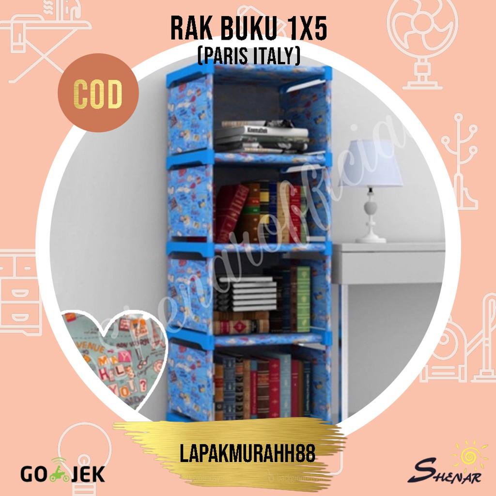 RAK BUKU PORTABLE/RAK SERBAGUNA/RAK BONGKAR PASANG/RAK ...