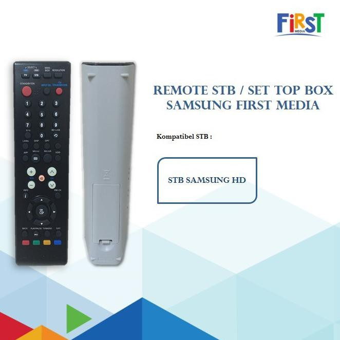 Remote First Media: Remote STB Samsung First Media (Kode 005))