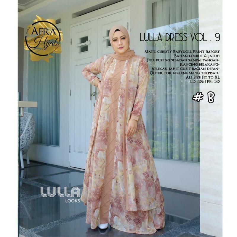 lulla dress vol.9 original by LULLA LOOKS || khadijahidstore
