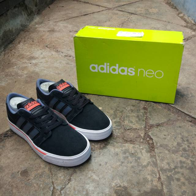 Adidas Neo Cloudfoam Super Skate White List Black (ORIGINAL ... 0fde9b8906