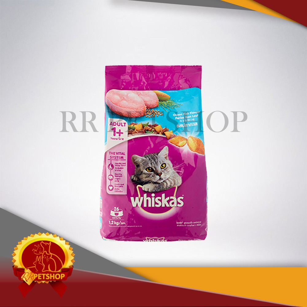 Whiskas Dry 12kg Makanan Kucing Kering Rasa Ocean Fish Shopee Sheba Melty 48gr Basah Tuna Seafood Indonesia