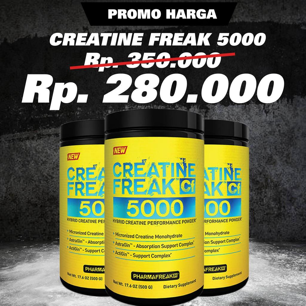 Harga Dan Spek Rsp Creatine Monohydrate 500 Gram Update 2018 Platinum 400 Muscletech Freak 5000 Gr Shopee Indonesia