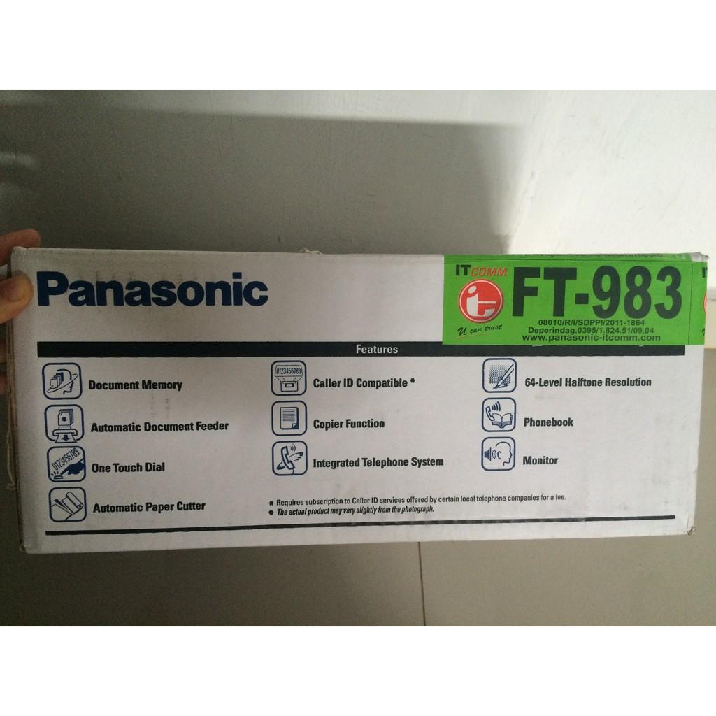 Dapatkan Harga Mesin Fax Diskon Shopee Indonesia Panasonic Machine Kx Ft987cx Facsimile Copy Telephone Answering System