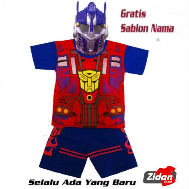 Kostum Transformer Optimus Primekaos Anakkostum Anakkostum Superhero Avenger Gratis Namatermurah