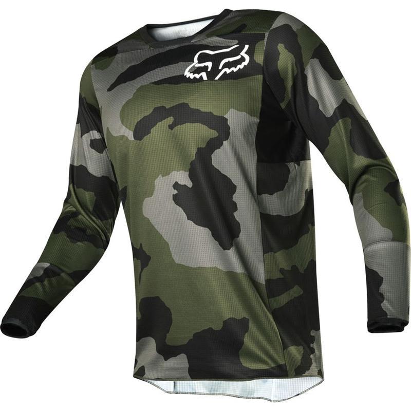 Kaos Jersey Sepeda Motor Bahan Breathable untuk Pria