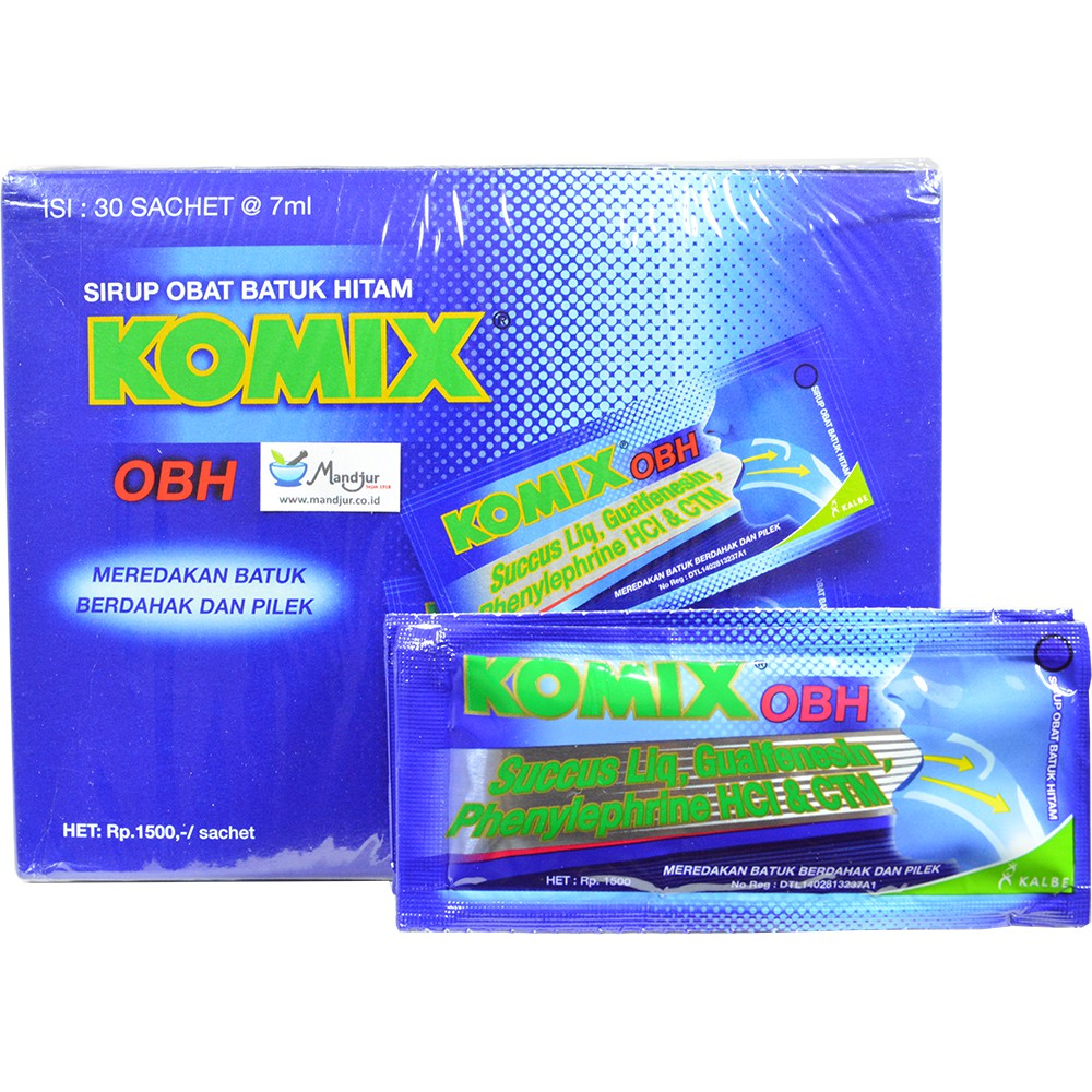 Komix Herbal Original Dus Isi 6 Sachet Shopee Indonesia Tolak Angin Anak 12