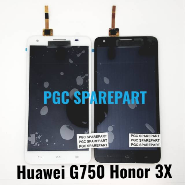 Original OEM LCD Touchscreen Fullset Huawei G750 Honor 3X
