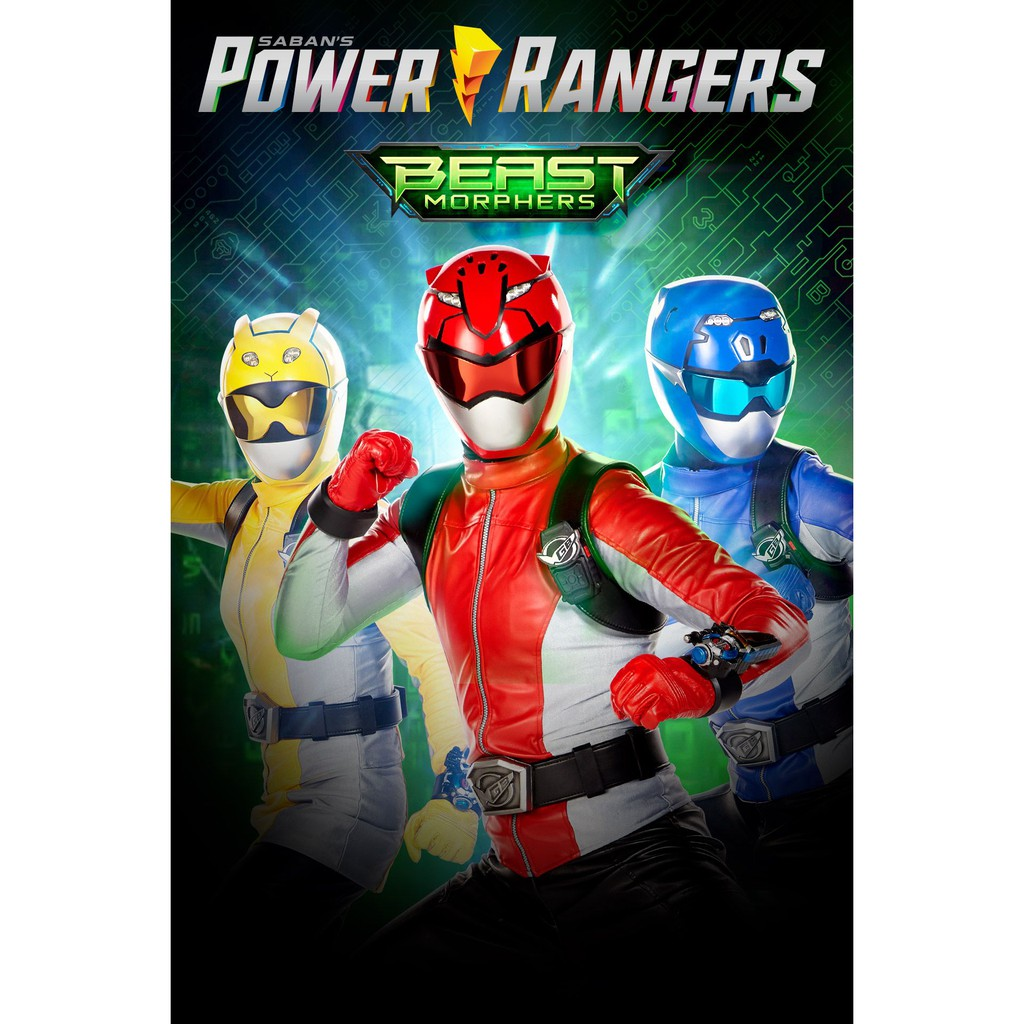 Dvd Power Rangers Beast Morphers Season 1 Sub Indo Lengkap Full Episode Shopee Indonesia