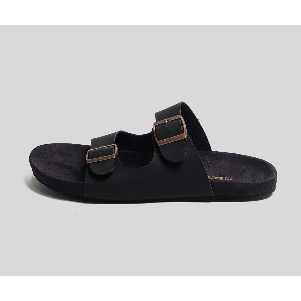 Product Limited Sandal Fila Full Black Premium High Quality Dr Kevin Men Sandals 97206 White Putih 40 Gratis Ongkir Shopee Indonesia