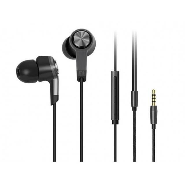 Headset Earphone Xiaomi Piston 3 Full Black Edition - Original