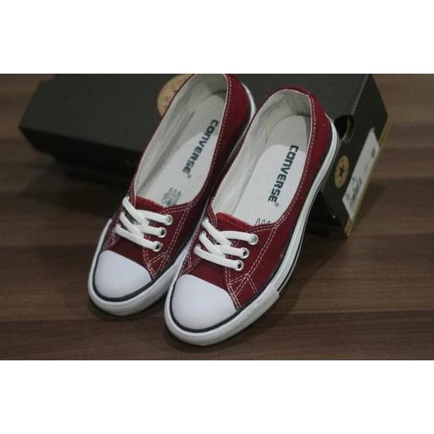 b05d1f4b0017e1 nzq 55 Sepatu Sneakers wanita Converse 3hole classic termurah ...