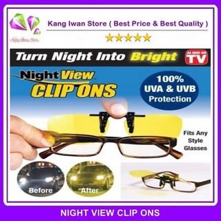 Perbandingan harga Night View Clip Ons As Seen On TV Klip Kacamata Anti Silau lowest price - only Rp13.884