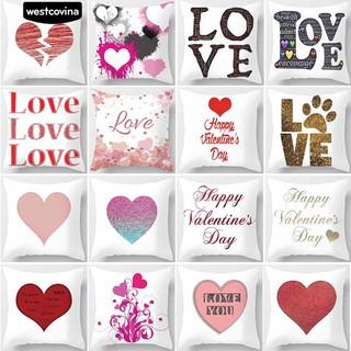 Bayar Di Tempatcinta Romantis Jantung Sofa Cafe Mobil Decor Surat Cetak Bantal Kasus