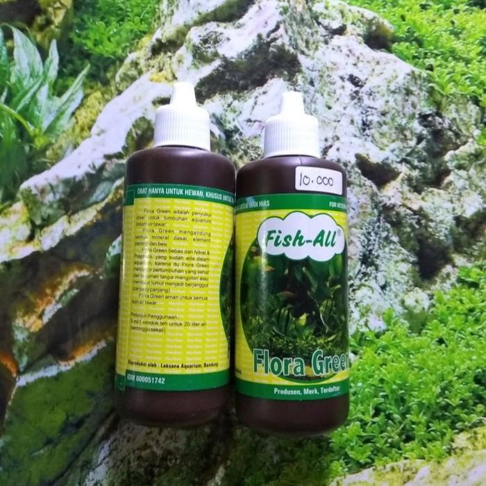 Pupuk Cair Aquascape Fish All Flora Green 100ml Shopee Indonesia