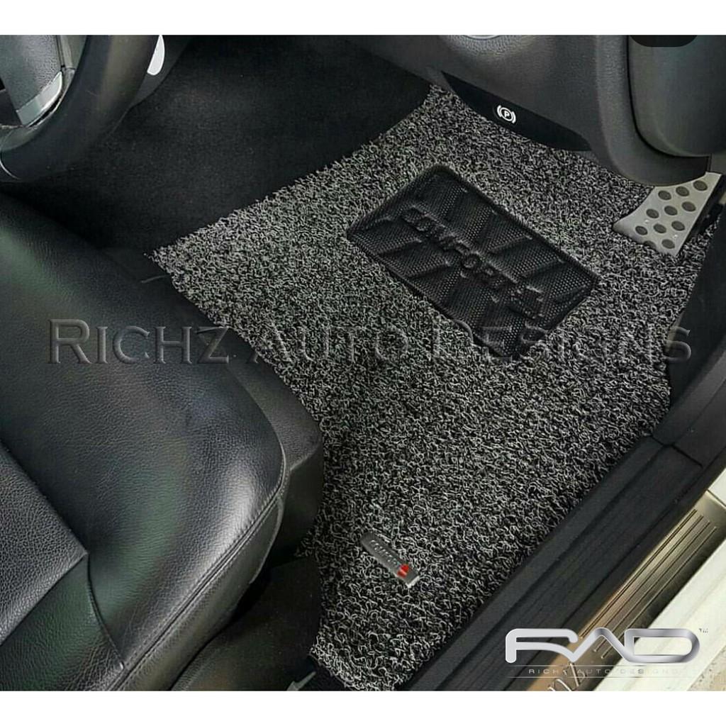Karpet Comfort Deluxe Daihatsu Sigra Tanpa Full Bagasi Shopee Mazda 6 Mobil 12mm Car Mat Set Indonesia