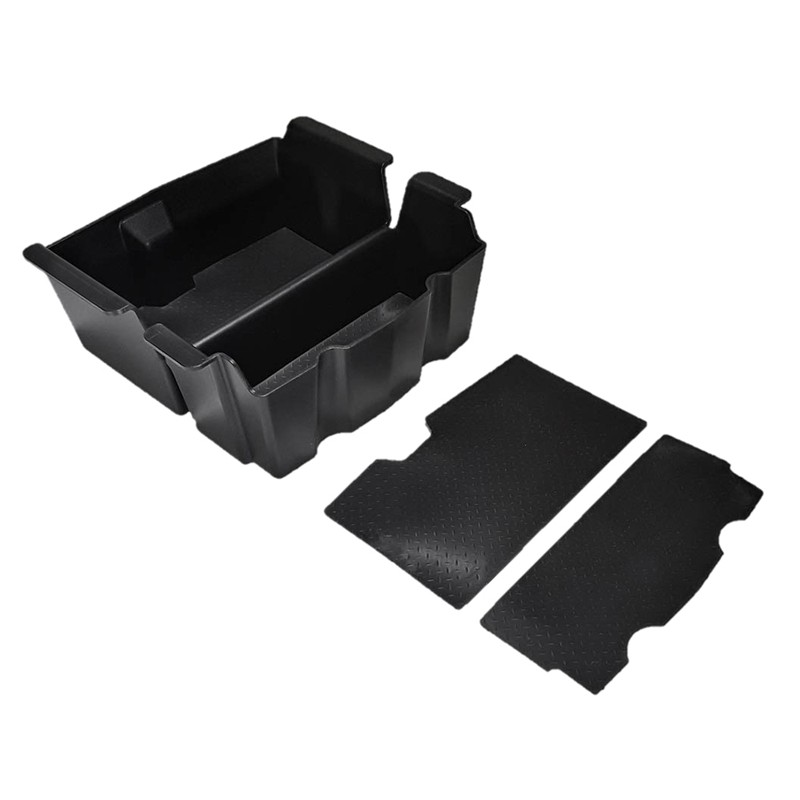 Copilot Glove Box Partition for 2018-2020 Jeep Wrangler JL JLU /& 2020 Jeep Gladiator JT JL GearTray Central Console Side Storage Box Organizer Tray
