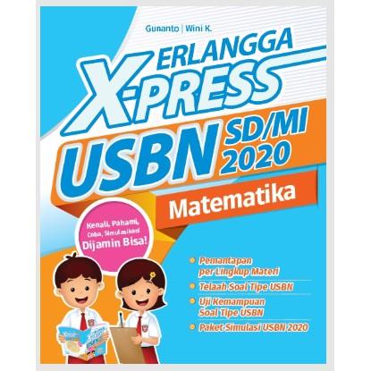 Erlangga X Press Usbn Sd Mi 2020 Matematika Kunci Jawaban Shopee Indonesia
