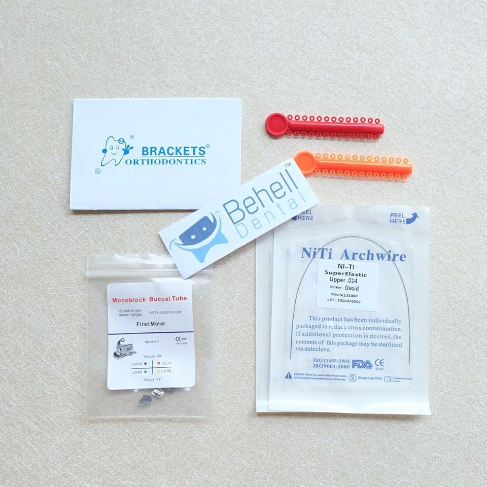 Paket Behel Permanen Bracket Murah Karet Motif Shopee Indonesia Orthodontics Isi 10 Amplop  Best Seller