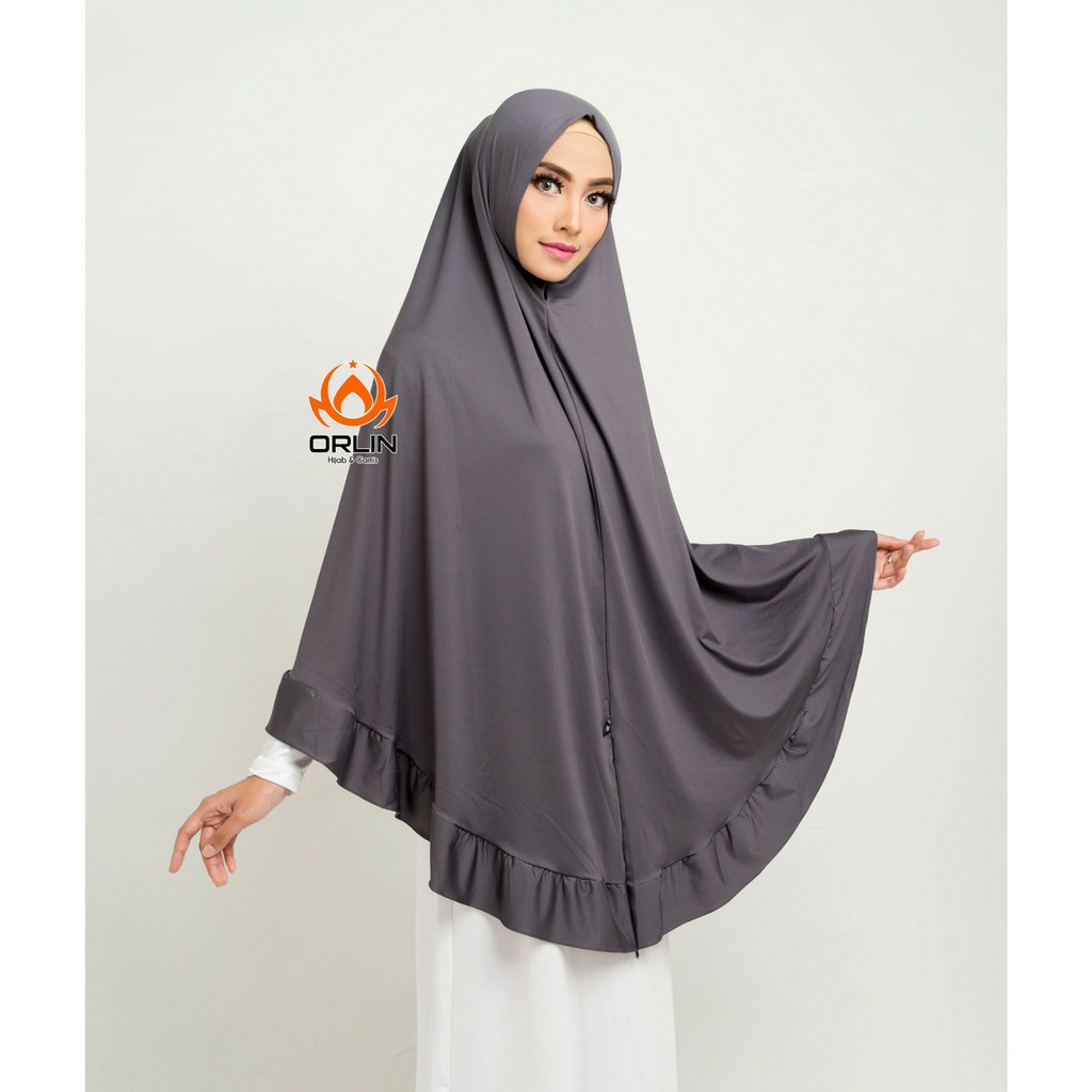 Jilbab Syari Non Pet Hijab Casual