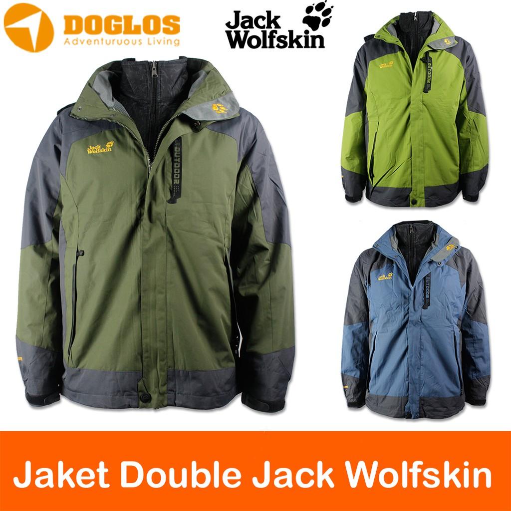 Jack Wolfskin Original Jacket Bulu JWS jaket gunung winter hiking ... 5edf926864