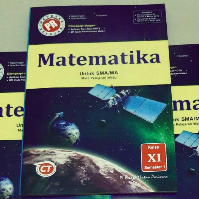 Buku Pr Matematika Wajib Kelas 11 2020 2021 Shopee Indonesia