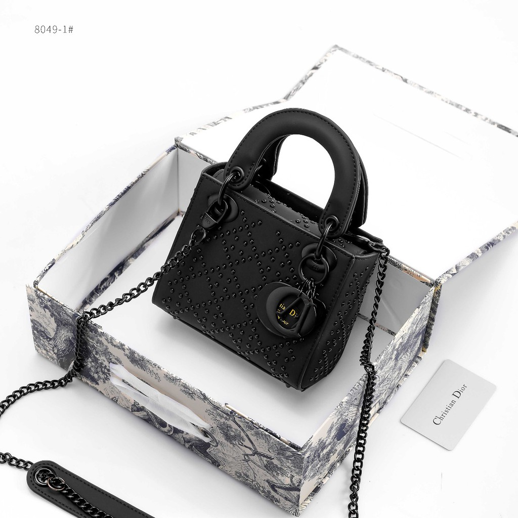 1 Hr Photo >> Christian Dior Lady Dove Small 8049 1 Hr Tas Import Tas Branded Tas Selempang Wanita Sling Bag