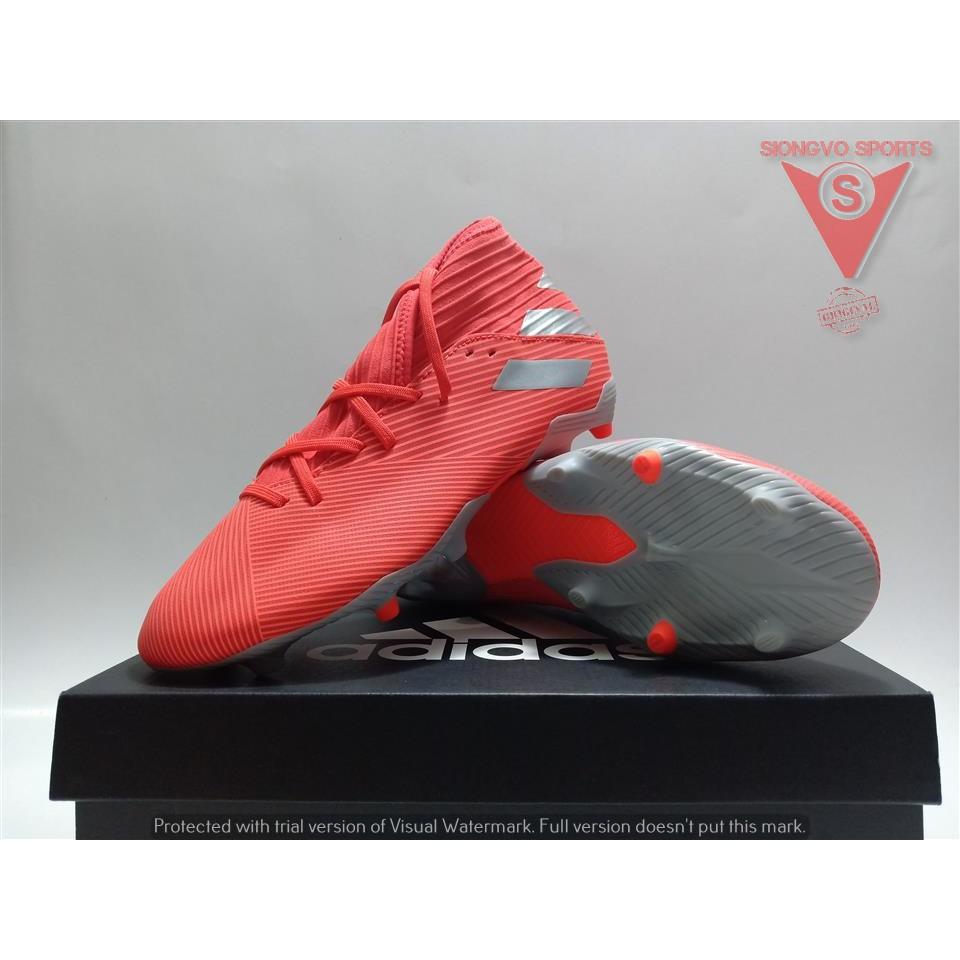 Sepatu Bola Adidas Nemeziz 19 3 Fg Original F34389 Active Red