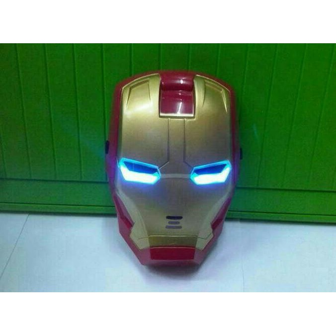 1017Bb Topeng Led Iron Man-Masker Avengers-Mainan Anak Edukatif Newnice | Shopee Indonesia