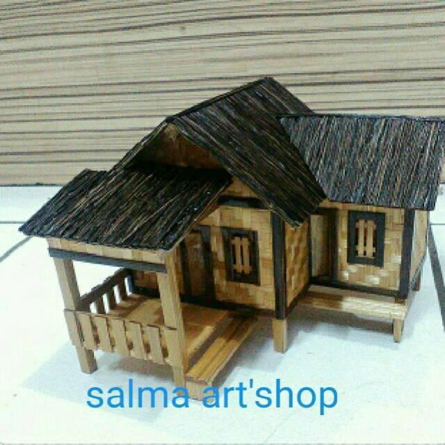 Miniatur Rumah Adat Jawa Barat Shopee Indonesia