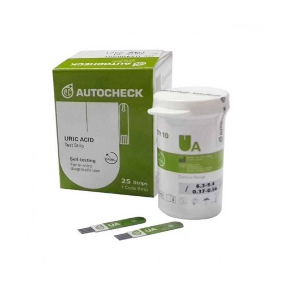 Autocheck Strip Asam Urat Uric Acid Isi 25 Shopee Indonesia Stik Gula