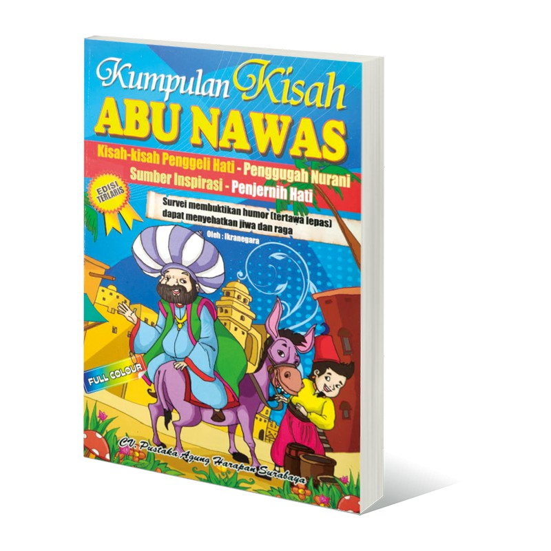 Kumpulan Kisah Abu Nawas Edisi Terlaris Full Colour Shopee Indonesia