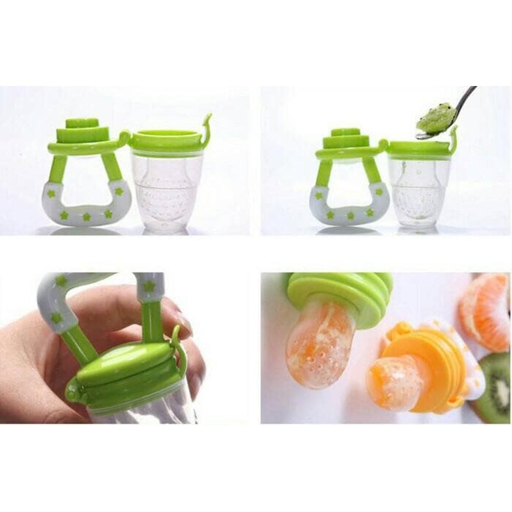 Baby Food Feeder Mesh Kompeng Bayi Dot Makanan Empeng Buah Pacifier Fruit Juice Teether Shopee Indonesia