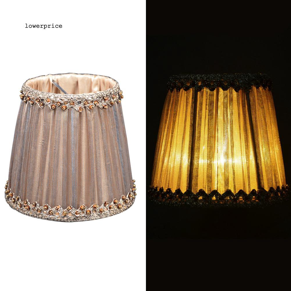Lp Exquisite Lampshade Bulb Clip Ceiling Lamp Wall Candle Light Cover Home Decor Shopee Indonesia