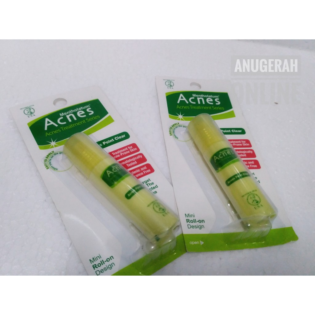 Acnes Point Clear Roll On Shopee Indonesia Acne Treatment Gel 9gr Obat Jerawat